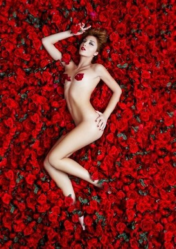Photoshoot 'American beauty'