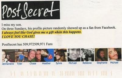 PostSecret - 15 November 2009