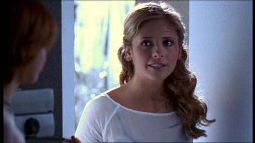 Buffy Summers wallpaper containing a portrait entitled Primeval