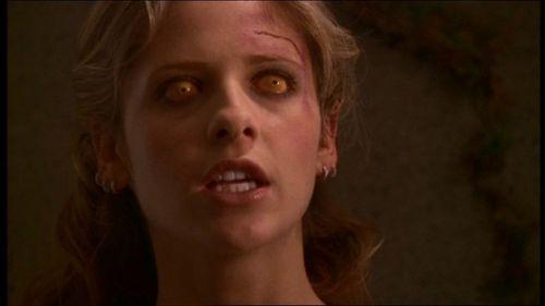 Buffy Summers karatasi la kupamba ukuta with a portrait titled Primeval