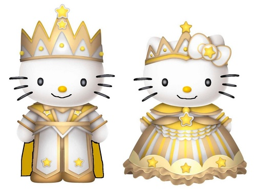 Prince Dear Daniel and Princess Kitty