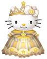 Princess Kitty - hello-kitty fan art