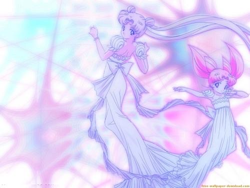 Princess Selenity & Small Lady Selenity