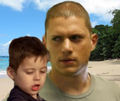 Prison Break - Michael and MJ - michael-scofield fan art