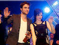 RPattz, KStew and TLaut Visit New Moon Fans in Germany  - twilight-series photo