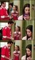 Rachel, Finn and Quinn
