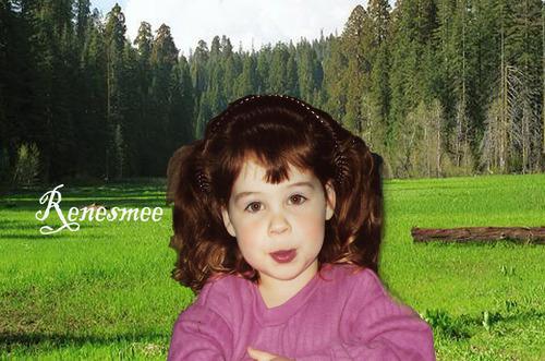 Renesmee In The Meadow