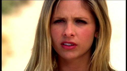 Buffy Summers hình nền with a portrait entitled Restless