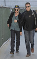 Rob, Kris and Taylor back in LA - twilight-series photo