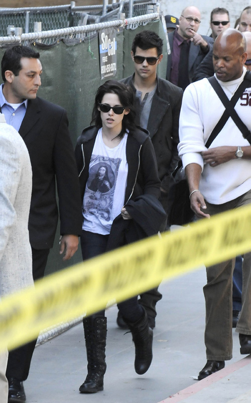 Rob, Kris and Taylor back in LA