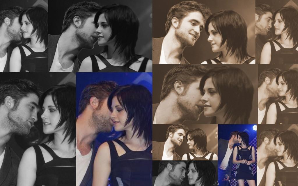 Robert Pattinson & Kristen Stewart collages