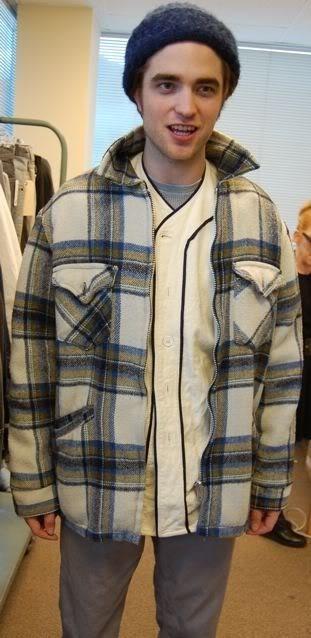 Robert Pattinson Twilight Wardrobe Test Pics
