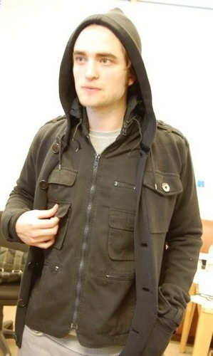 Robert Pattinson Twilight Wardrobe Test Pics