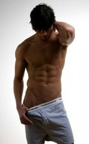 jared padalecki wallpaper containing a six pack and a bingkah, cowok called SOOO SEXY