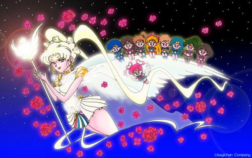 Sailor Cosmos & चीबी Scouts
