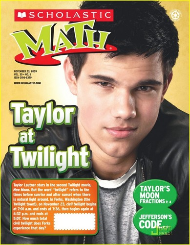 Taylor/Jacob fan Girls fondo de pantalla with anime entitled Scholastic Math Magazine scans