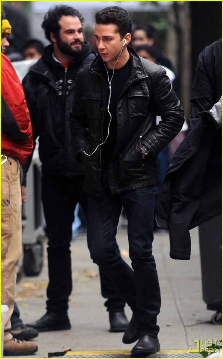 Shia labeouf leather jacket