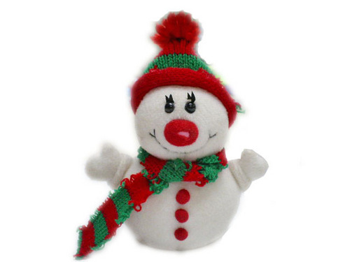 Soft Toy Snowman ! - stuffed-animals Photo