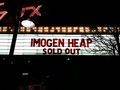 Sold Out! - imogen-heap photo