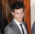 Taylor Lautner Dine in Madrid - twilight-series photo
