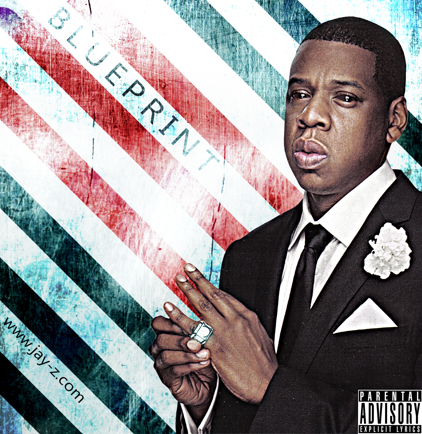 Jay z the blueprint 2 album cover the blueprint 3 jay z cover malvernweather Choice Image