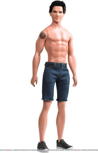 Taylor/Jacob Fan Girls wallpaper with a hunk entitled The Jacob Black Barbie Doll