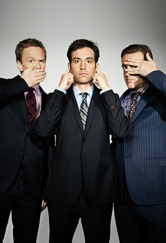 The Men of HIMYM in Playboy
