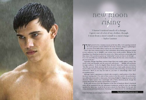 Taylor Lautner wallpaper containing a hunk and a six pack called The Taylor Lautner Album scans
