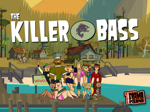 Total Drama Island karatasi la kupamba ukuta possibly with anime titled The Teams' Wallpapers!