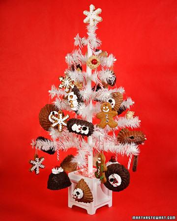 The White 圣诞节 树