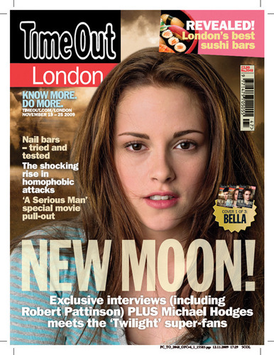Time Out Luân Đôn Covers NEW MOON Collector's set