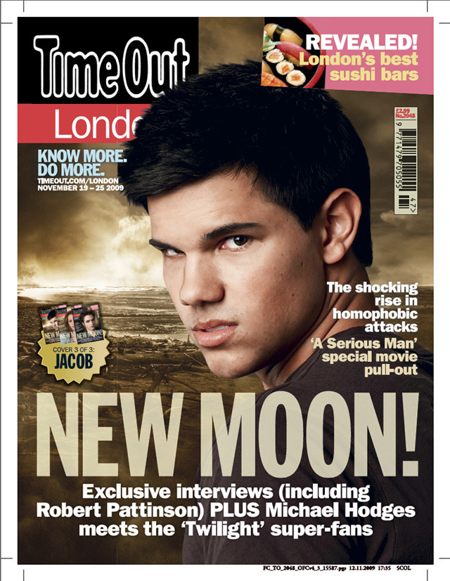Time Out Londres magazine - New Moon Collectors Set