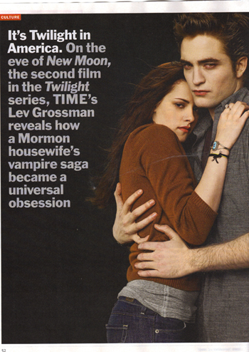 Twilight Series wallpaper probably with anime entitled Time mag. scans
