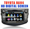 Toyota RAV4 06-09 Car DVD GPS Navi player in dash 7&quot;HD touch PIP RDS IPOD