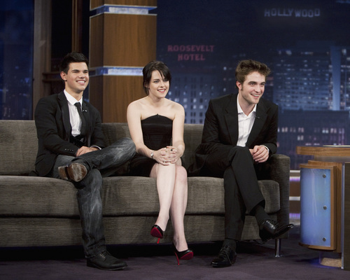 Twilight cast on Jimmy