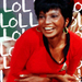 Uhura laughing