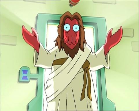 Zoidberg is Jesus