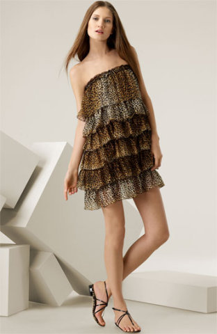 d+g leopard print dress