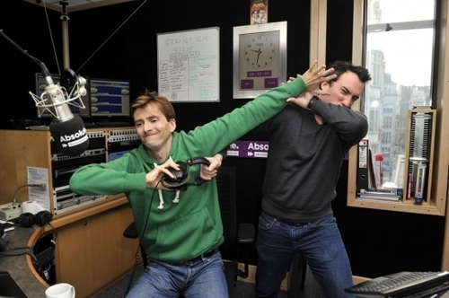 david on the absolute radio fightin with christian