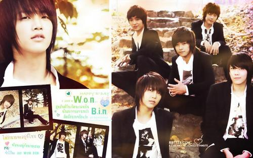 F.T. Island wallpaper probably containing a bridesmaid, a business suit, and a portrait titled ft island