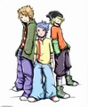 japanese ed, edd, n eddy - cartoon-network photo