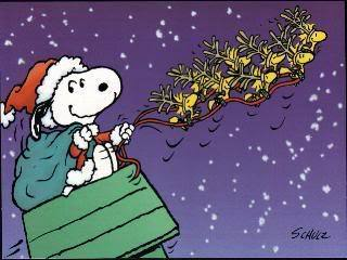 merry christmas - snoopy Photo