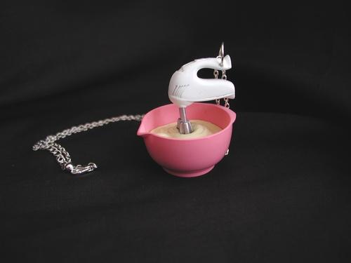 mini sweet cupcake jewelry