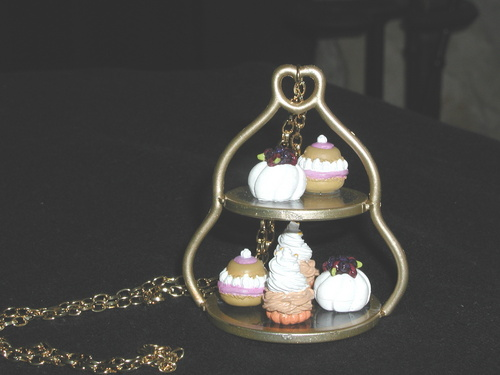 mini sweet cupcake jewelry - cupcakes Photo