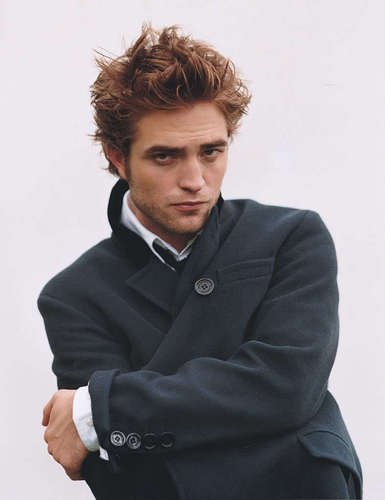 और of robert pattinson photoshoot