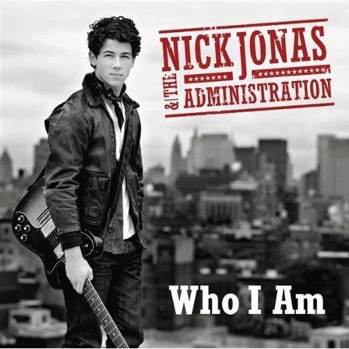 "nick's album covere ""who I am """