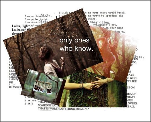 only ones who know // a story door VintageHeart. // cover.