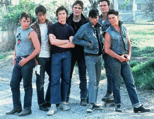 the greasers - the-outsiders Photo