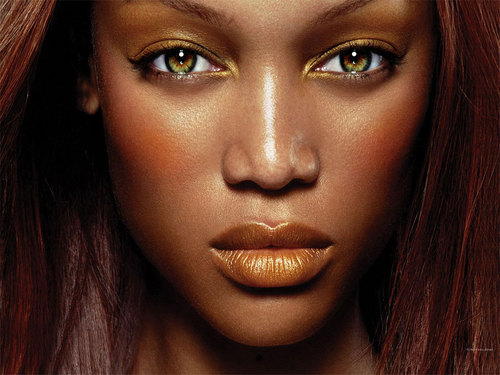 Tyra Banks wallpaper probably with a portrait titled trya banks