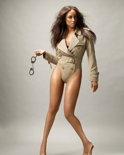 Tyra Banks wallpaper probably containing tights, a leotard, and a costume da bagno entitled tyra BANKS